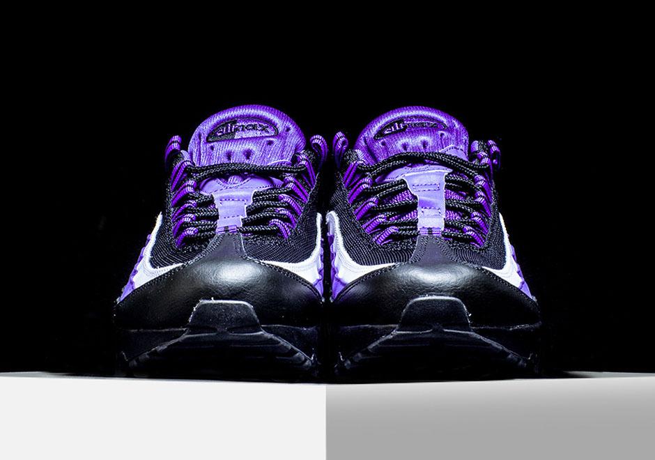 Clean Shots Of The Nike Air Max 95 Persian Violet • KicksOnFire.com