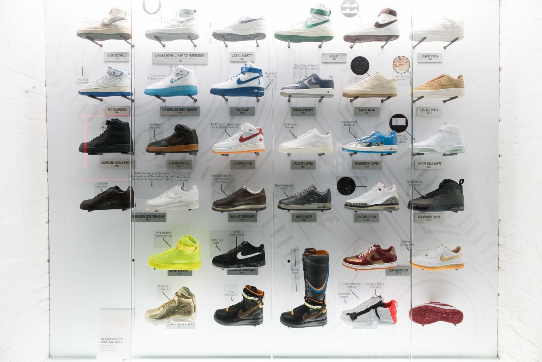Nike Air Force 1 Timeline Musée des impressionnismes Giverny