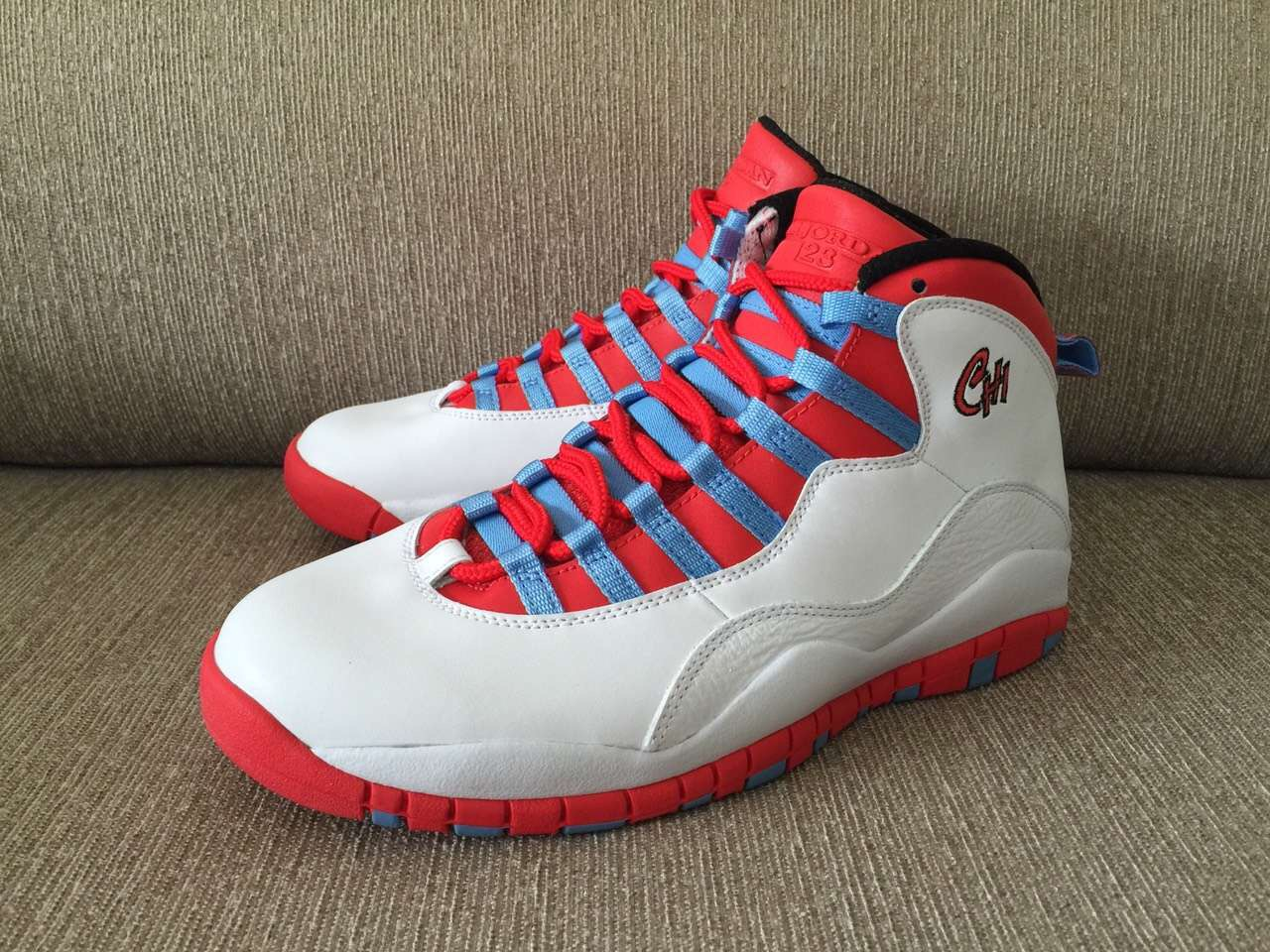 best service cf6bd 1dce3 The Air Jordan 10 Chicago Flag Drops This Spring ...