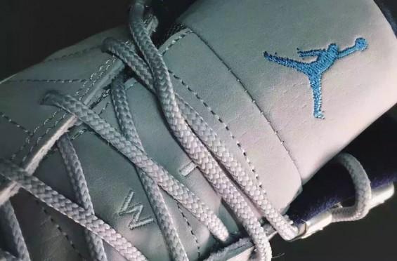 Air Jordan 12 Grey University Blue 8