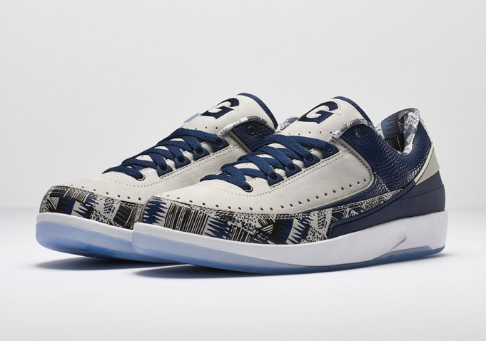 new style 32ef9 550e0 Georgetown Also Receives PE Colorways Of The Air Jordan 2 ...