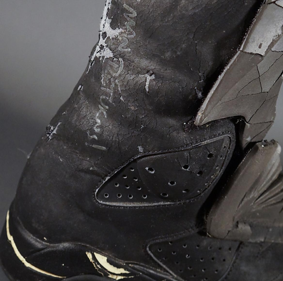 check out 8fb33 cbf22 Sneaker Grails: Batman Wore The Original Air Jordan 6 Black ...