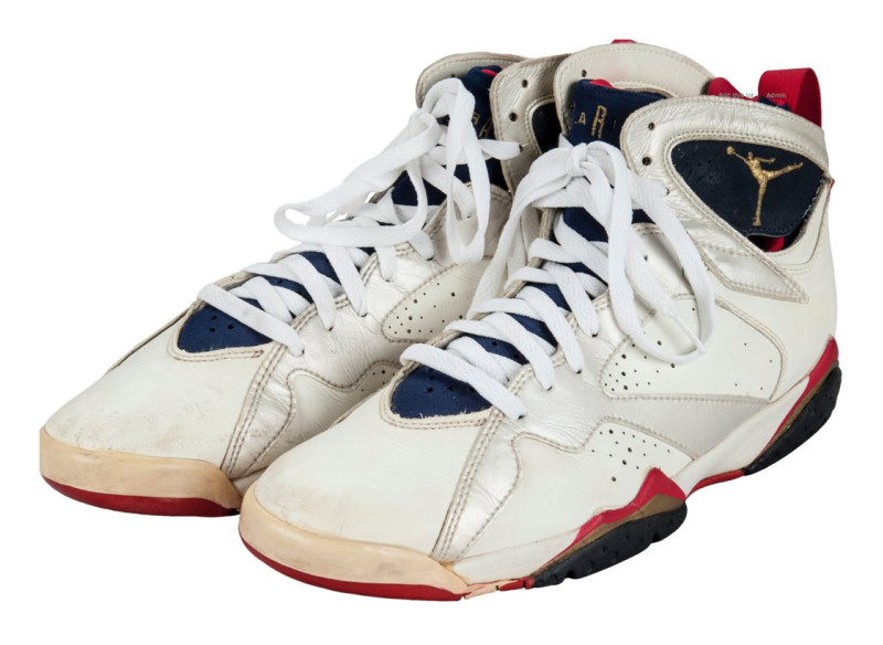 quality design f49e4 f3707 The Shoes That Michael Jordan Wore For The 1992 Olympics ...