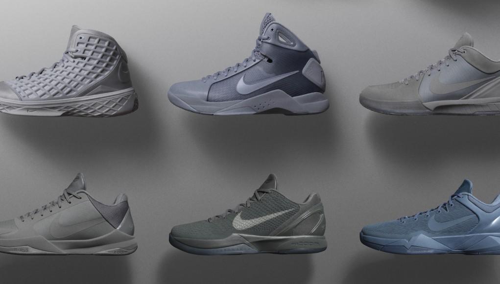 wholesale dealer 08ec6 b25c9 Kobe Fades To Black With The Nike Black Mamba Pack
