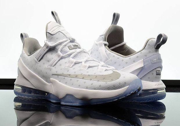 online retailer 80c03 3c728 The Nike LeBron 13 Low Metallic Silver Is Now Available • KicksOnFire.com