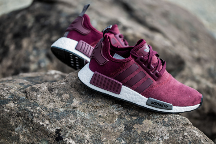 The Women's adidas NMD Burgundy Is