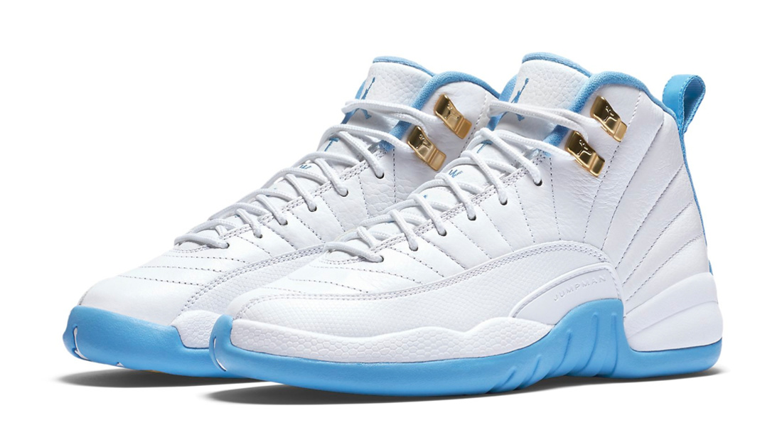 more photos 8d198 66556 Air Jordan 12 GS University Blue • KicksOnFire.com