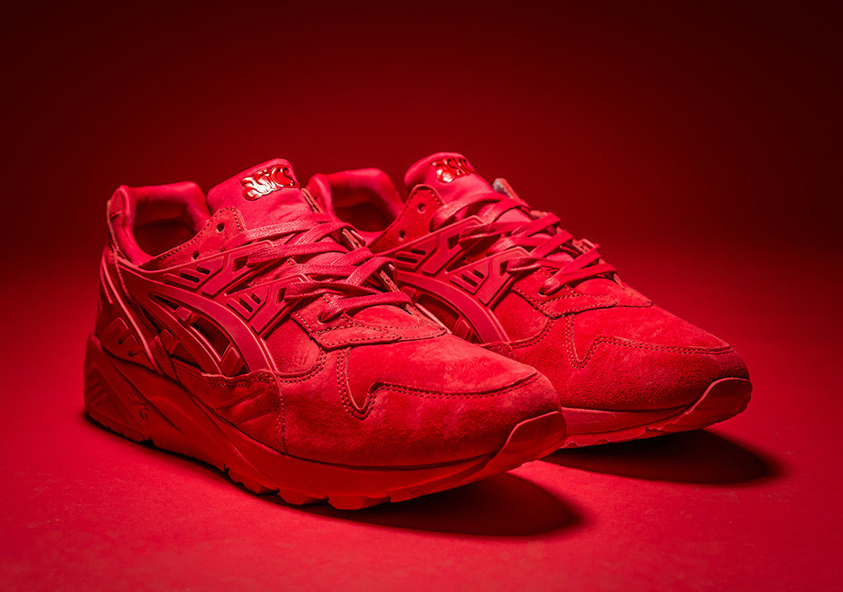 5aff4469f0 Only One Store Will Have The Asics Gel Kayano Trainer Triple Red ...