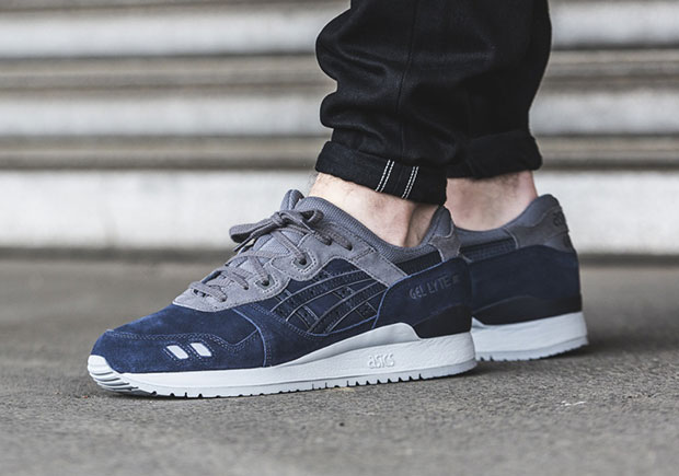 purchase cheap eb94e be689 The Asics Gel Lyte 3 Blue/Grey Is As Clean As It Gets ...