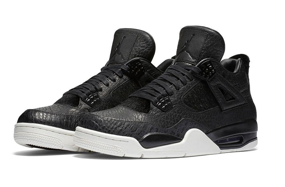 Air Jordan 4 Premium Black