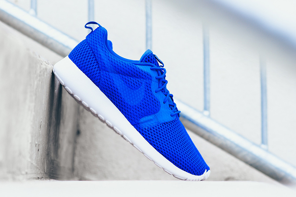 best authentic 6e983 6df74 The Nike Roshe One HYP Breathe Racer Blue Is Ideal For The ...