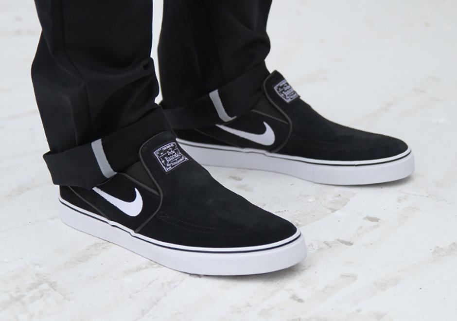 bebcc9272176b On-Feet Look At The Nike SB Stefan Janoski Slip-On • KicksOnFire.com