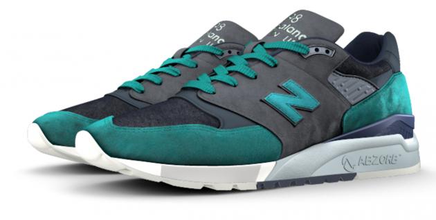 New Balance 998 NB1 Cone Demin 10