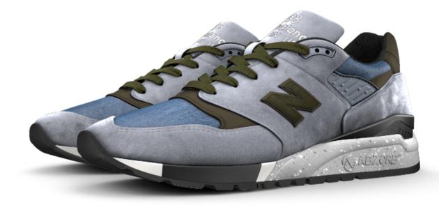 New Balance 998 NB1 Cone Demin 5
