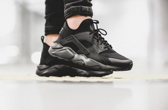 On Feet Look At The Nike Air Huarache Ultra BR Triple Black