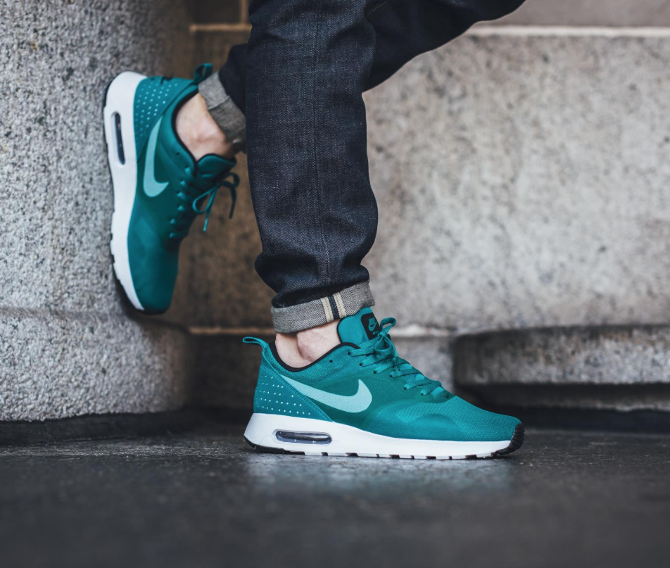 buy online 1ecc7 aeb3f The Nike Air Max Tavas receives a new colorway for Spring 2016, as it s  treated in a vibrant rio teal finish.