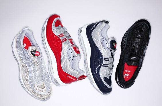 Supreme x Nike Air Max 98 1
