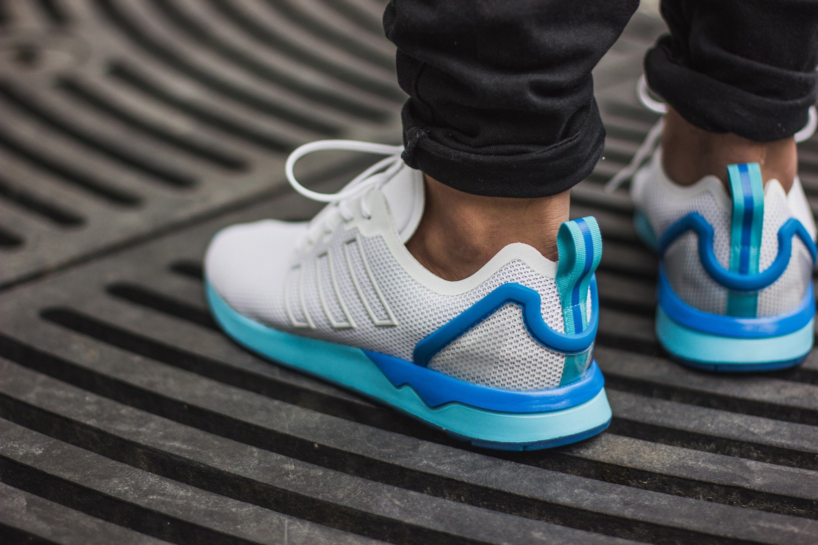 buy popular adc5c 76dd5 Neon Hits Appear On The adidas Originals ZX Flux ADV ...