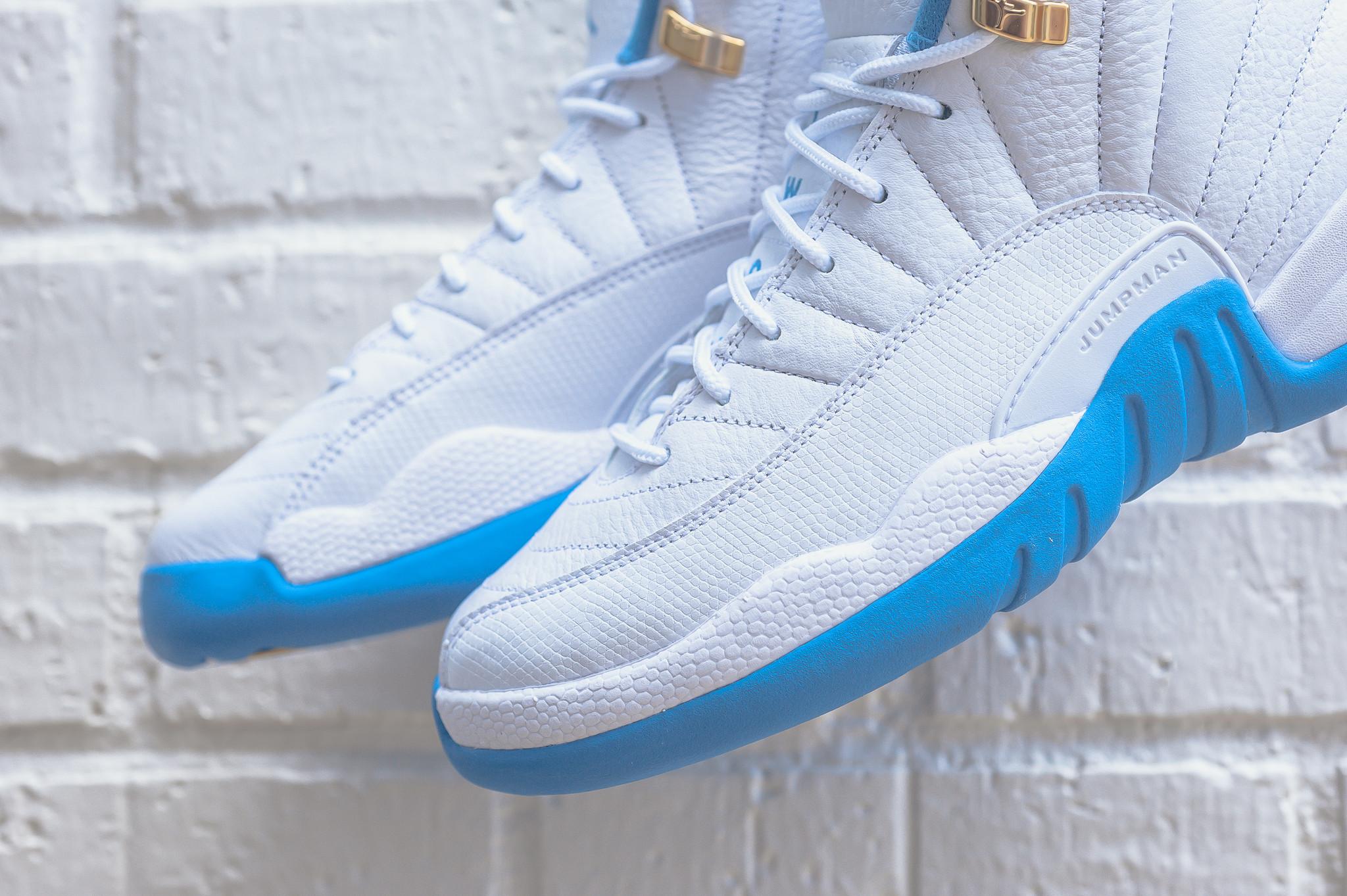 Air Jordan 12 Gs University Blue