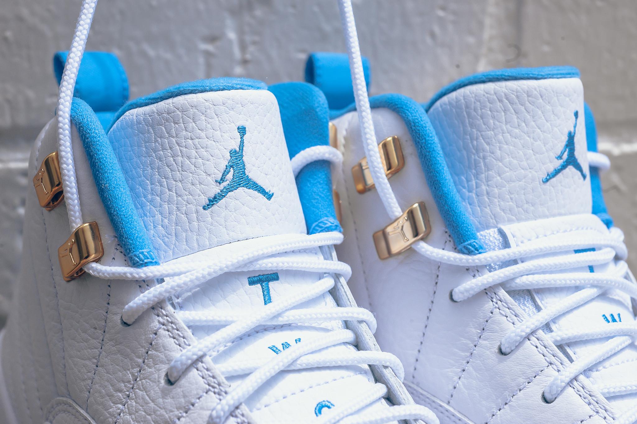 more photos a6a40 f8841 Air Jordan 12 GS University Blue • KicksOnFire.com