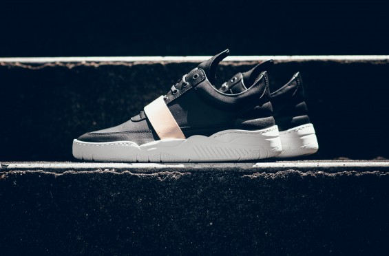 FILLING PIECES LOW TOP LEATHER STRAP 2
