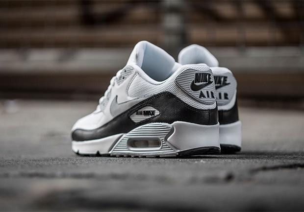 Nike Air Max 90 White Black Grey Kicksonfire Com