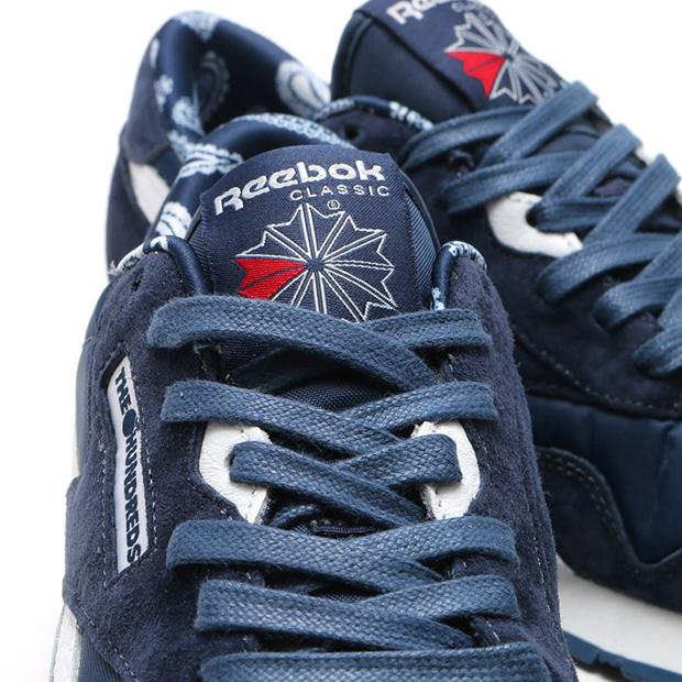 the hundreads x reebok classic nylon
