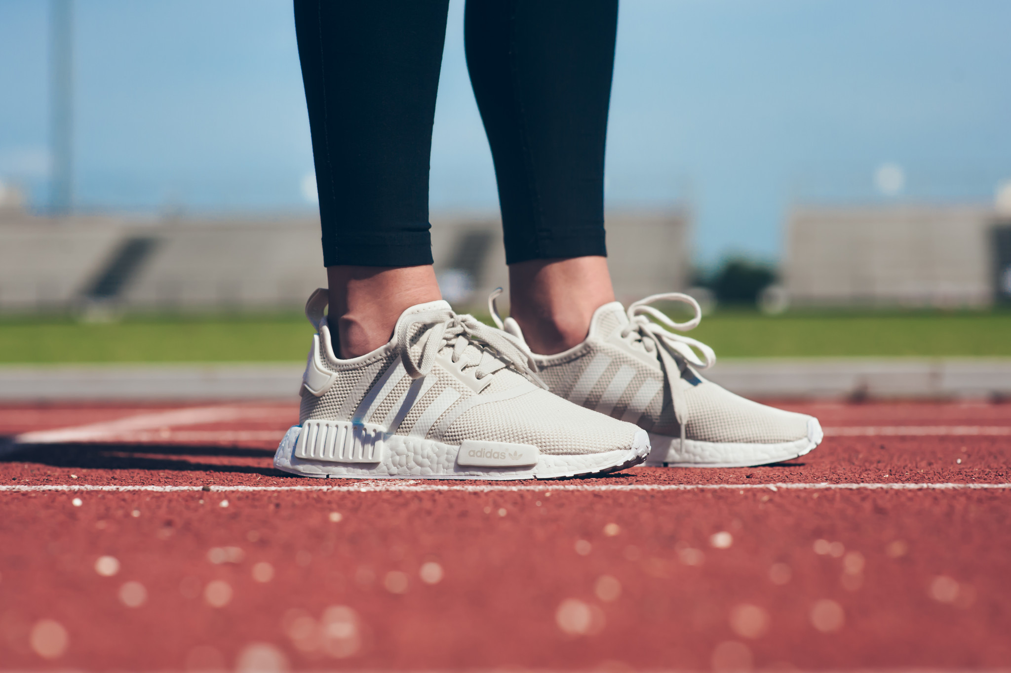 lowest price 9d953 2af5f The Women's adidas NMD R1 In Off White Is Perfect For Summer ...