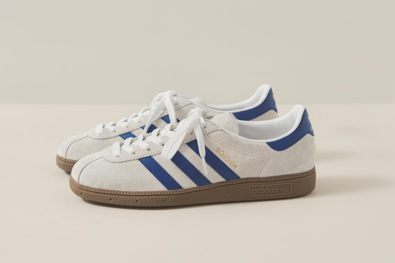 adidas Originals München Shoes | BlackWhite | BB5296