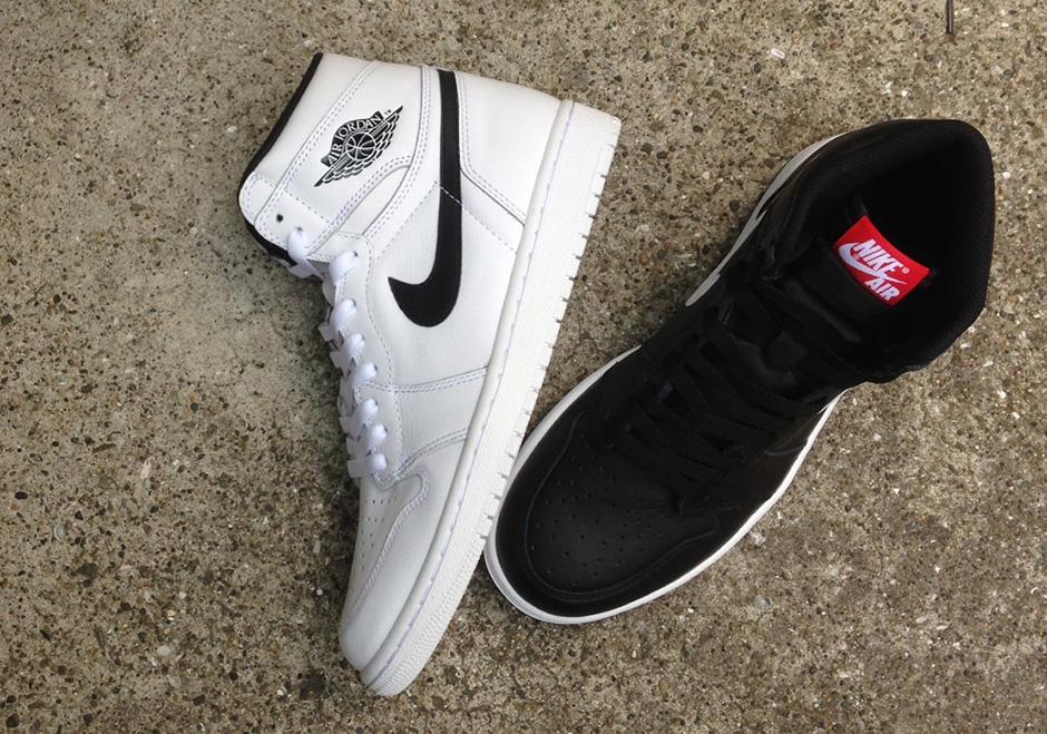 quality design 74901 56c91 Air Jordan 1 Retro High OG Premium Essentials Black (Yin-Yang Pack) •  KicksOnFire.com