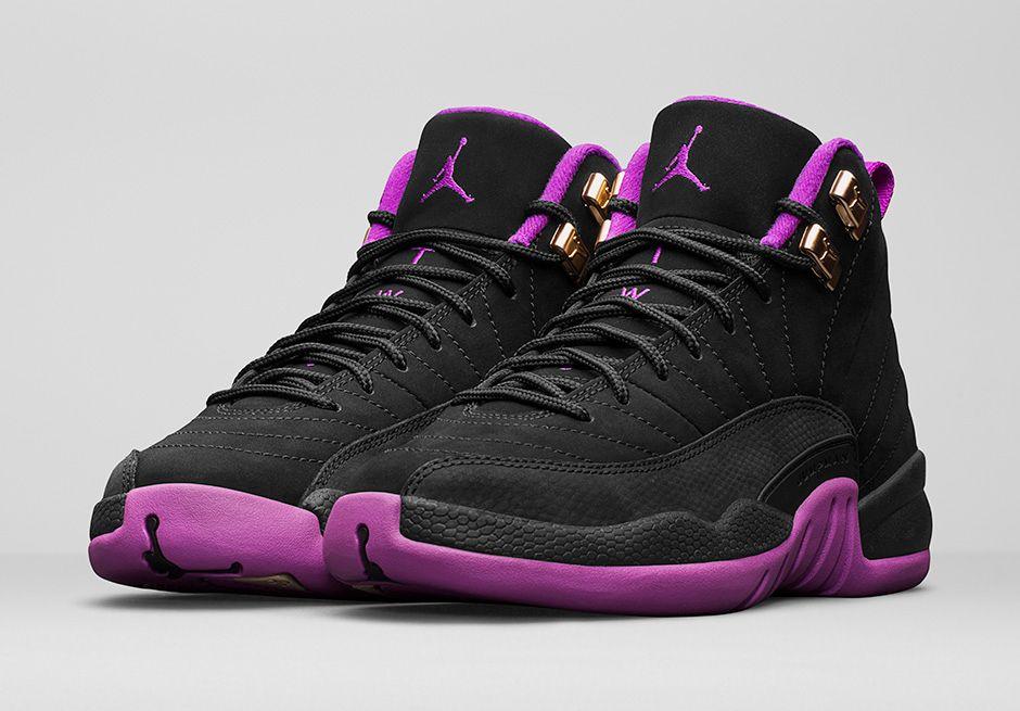 brand new c2b19 e31ff This Black   Purple Air Jordan 12 Releases On Saturday • KicksOnFire.com
