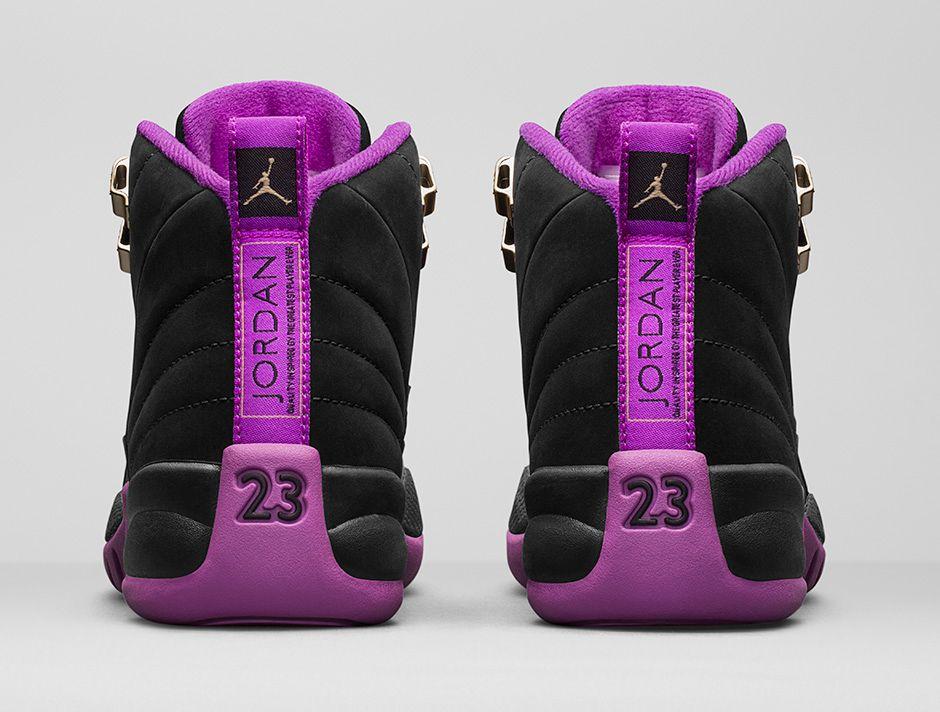 This Black \u0026 Purple Air Jordan 12