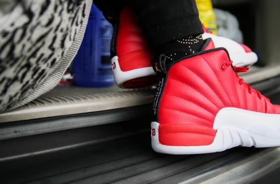 best service a449c f41ff Air Jordan 12 Gym Red (Alternate) • KicksOnFire.com