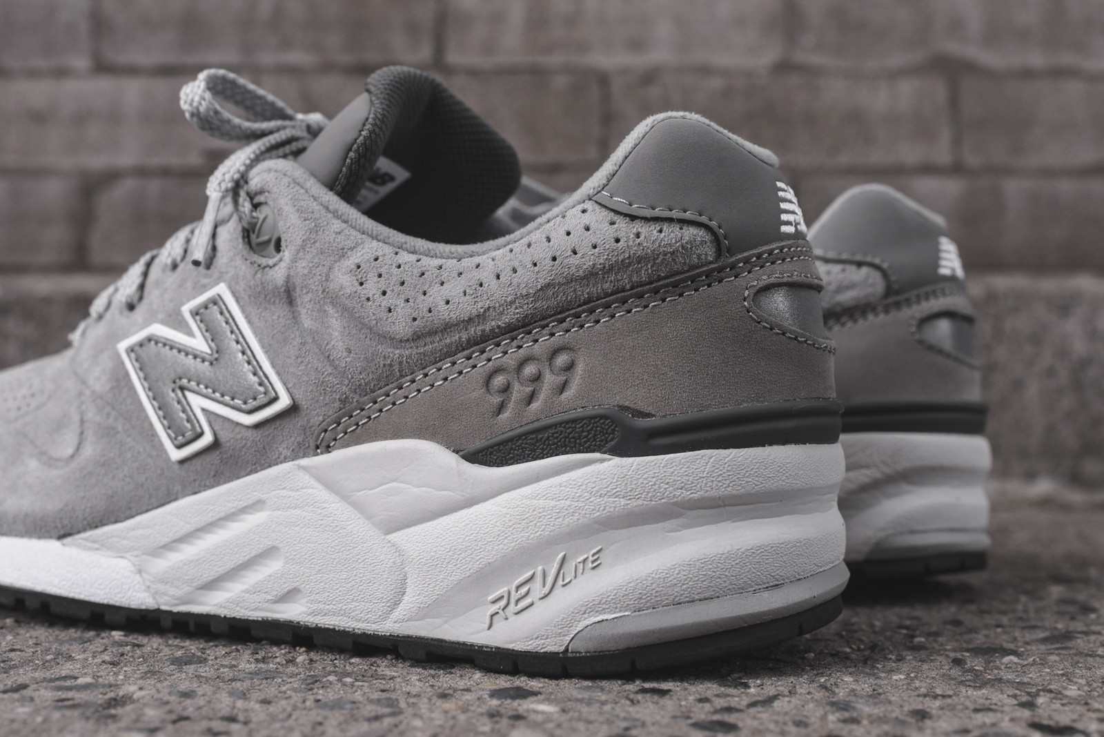 more photos e0585 e9c08 The New Balance 999 Deconstructed Steel Grey Goes Hard ...