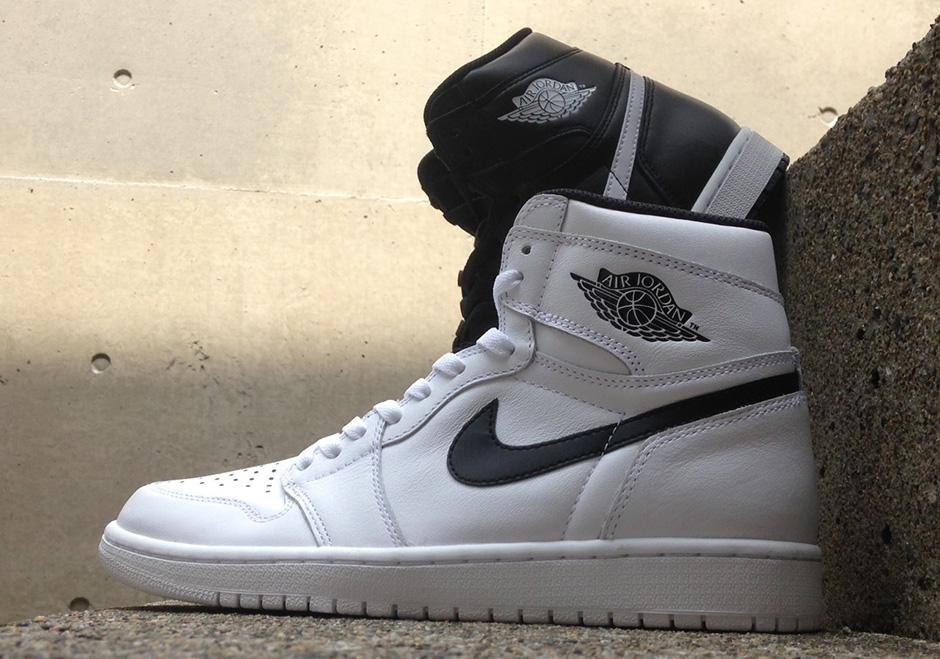 new styles 57fea 76f6a Air Jordan 1 Retro High OG Premium Essentials White (Yin-Yang Pack) •  KicksOnFire.com