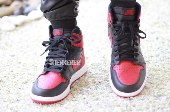 online store c982f 05ea7 Air Jordan 1 High OG Bred (2016) • KicksOnFire.com