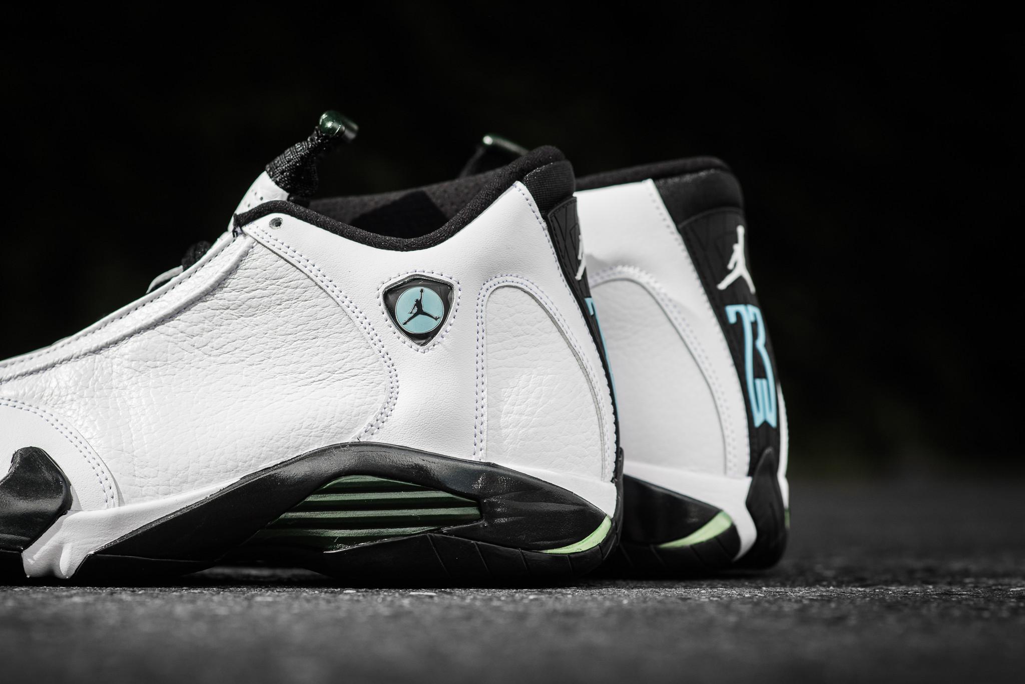 timeless design b8ce3 79929 Air Jordan 14 Oxidized Green (2016) • KicksOnFire.com