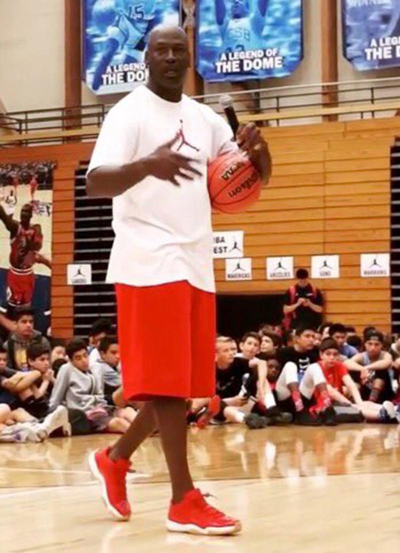 reputable site be379 76d82 What Unreleased Air Jordans Is Michael Jordan Wearing ...