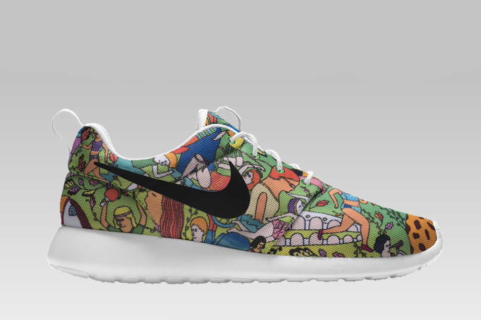 newest 4e371 b0a71 The Nike Roshe Run Gets Graphic With The Artistic Prints ...