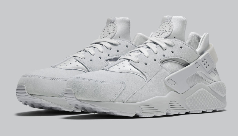 Grey Suede Nike Air Huarache