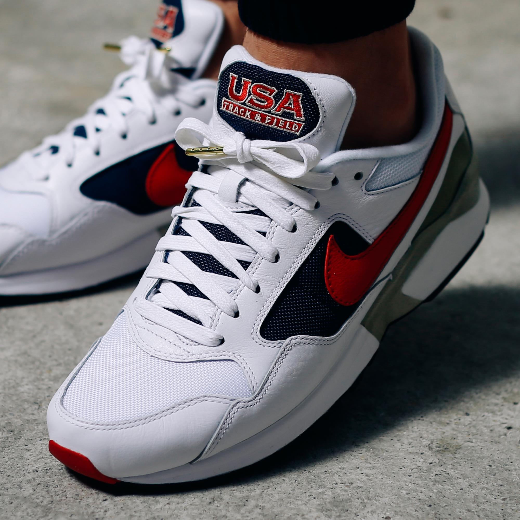 separation shoes 90518 712af The Nike Air Pegasus '92 Olympic On-Feet • KicksOnFire.com