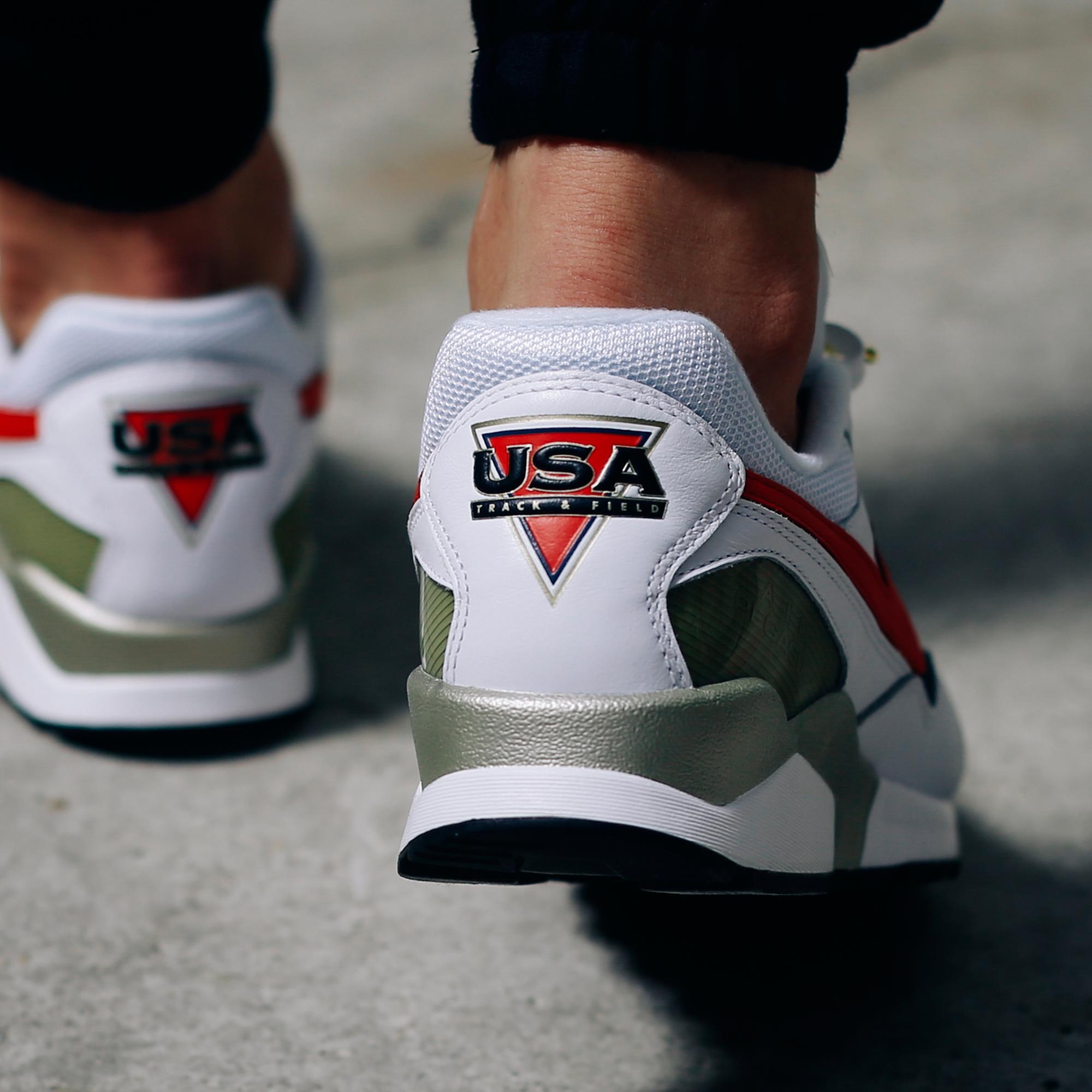 The Nike Air Pegasus '92 Olympic On Feet •
