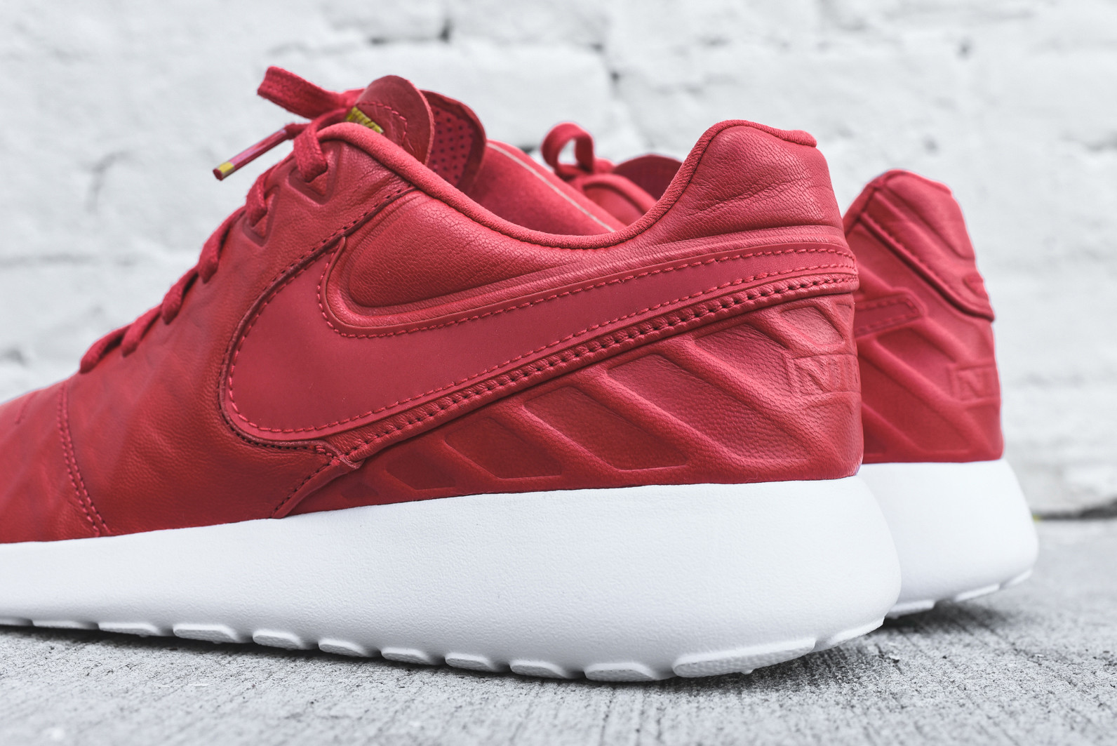 brand new 0490b d6bf4 The Nike Roshe Tiempo VI University Red Is Now Up For Grabs