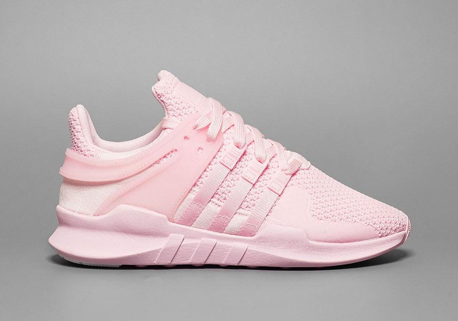 Triple Pink Lands On The adidas EQT Support ADV • KicksOnFire.com