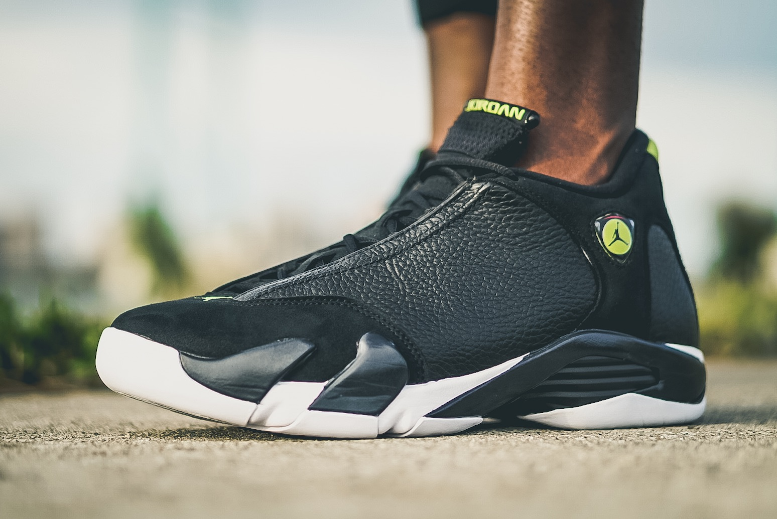 the latest 19f4f 59158 On-Feet Look At The Air Jordan 14 Indiglo