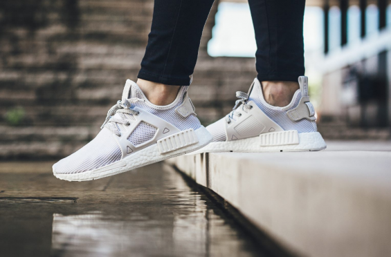 8442b2ceb16d2 Adidas Nmd Xr1 Triple White On Feet kenmore-cleaning.co.uk