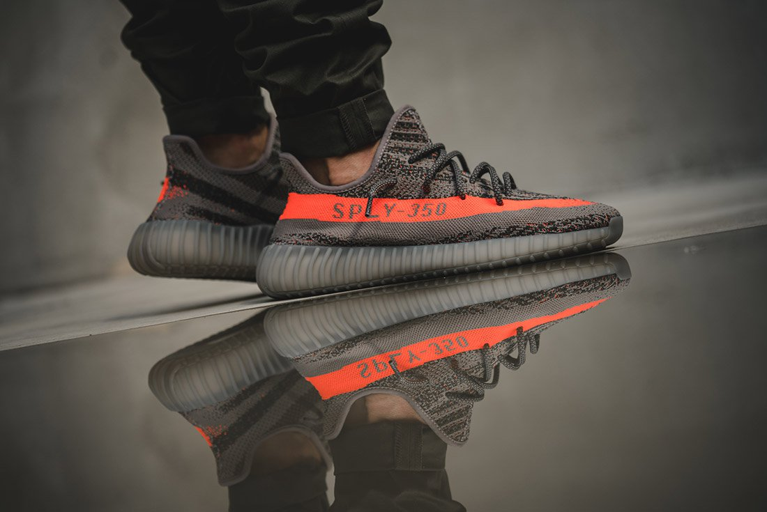 check out f797e a0efe See How The adidas Yeezy Boost 350 V2 Beluga Looks On Feet ...
