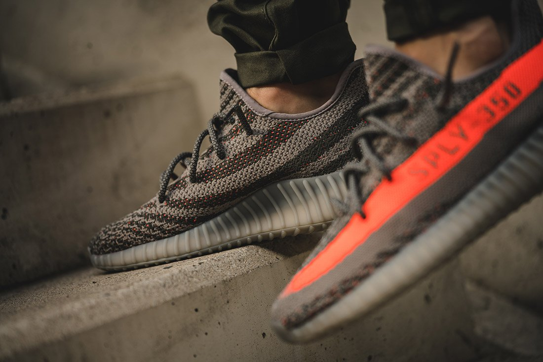 See How The adidas Yeezy Boost 350 V2 Beluga Looks On Feet