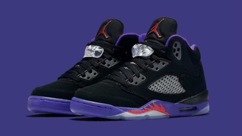 sports shoes b727e 7112d Official Images Of The Air Jordan 5 GS Raptors • KicksOnFire.com