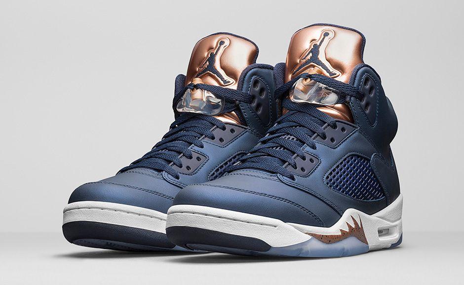 buy online f98cc 35f41 Air Jordan 5 Bronze • KicksOnFire.com